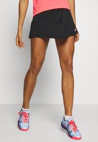 ASICS - CLUB SKORT - Sportovní sukně - performance black - 0