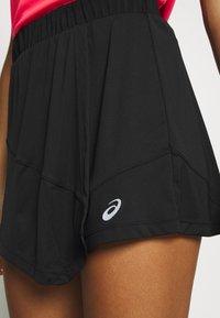 ASICS - CLUB SKORT - Sportovní sukně - performance black - 5