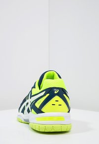 ASICS - GEL-HUNTER 3 - Volleyball shoes - poseidon/white/safety yellow - 3