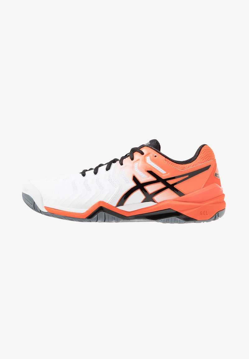 ASICS - GEL-RESOLUTION 7 - Multicourt tennis shoes - white/koi