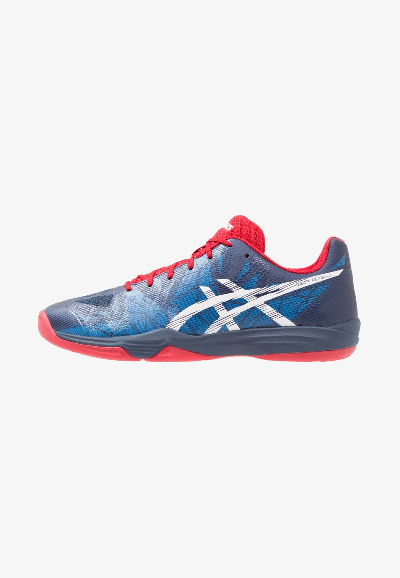 ASICS - GEL FASTBALL 3 - Handballschuh - insignia blue/white/prime red