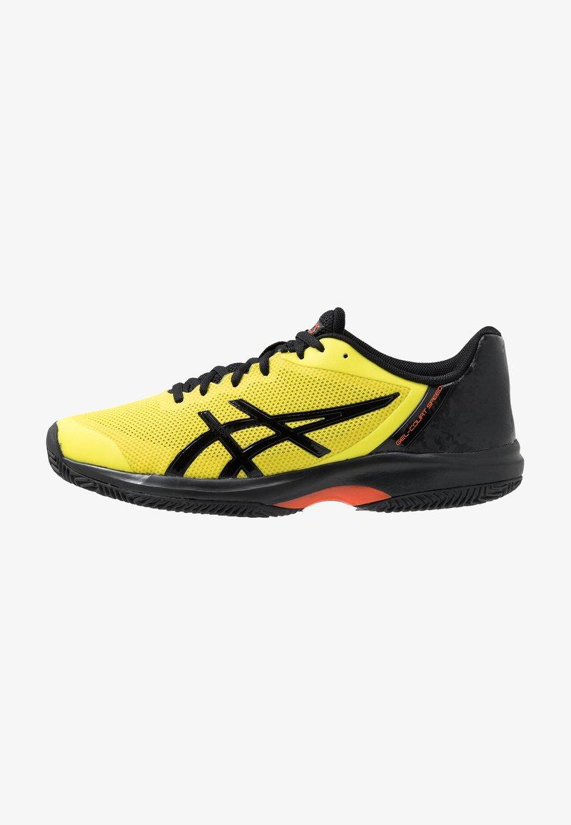 ASICS - GEL-COURT SPEED CLAY - Clay court tennis shoes - sour yuzu/black