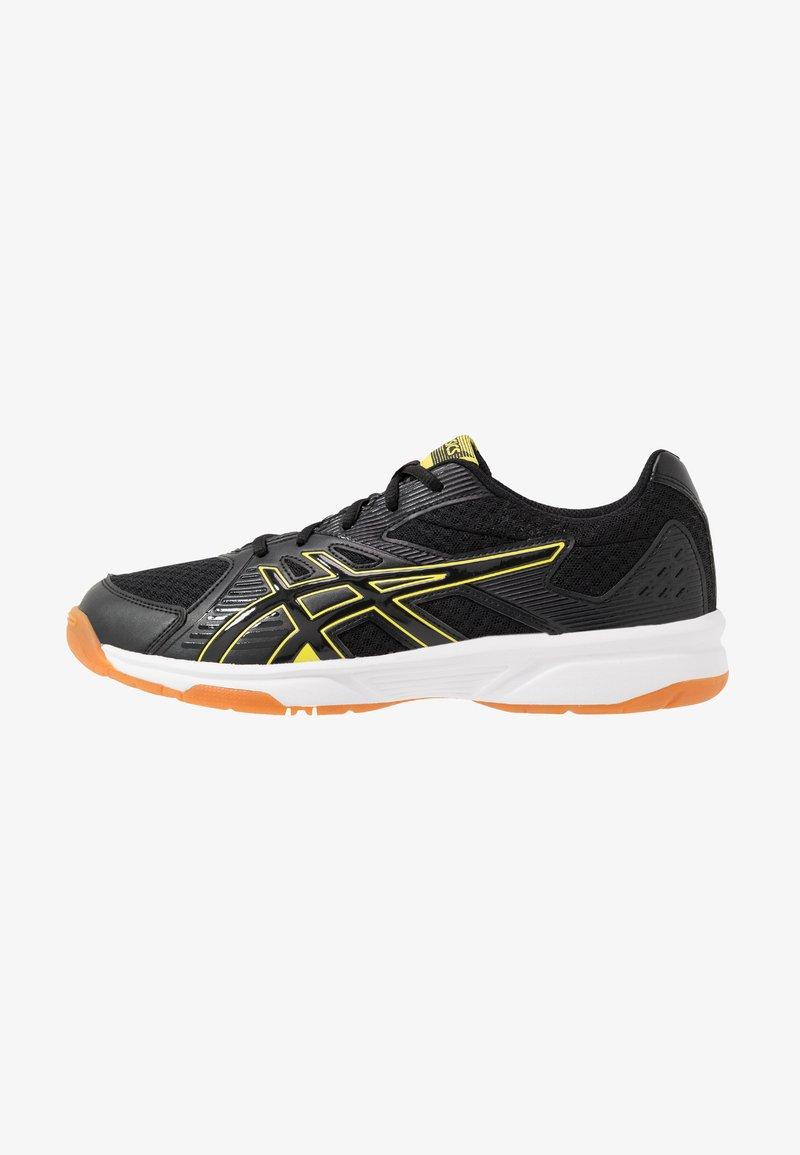 ASICS - UPCOURT 3 - Tenisové boty na všechny povrchy - black/sour yuzu
