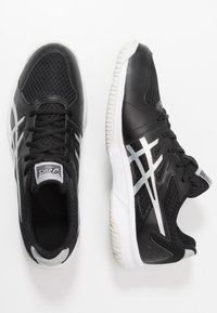 ASICS - UPCOURT 3 - Multicourt tennis shoes - black/pure silver - 1