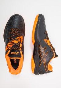 ASICS - BLAST FF - Volleyballschuh - black/shocking orange - 1