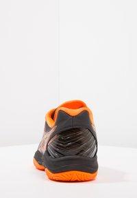 ASICS - BLAST FF - Volleyballschuh - black/shocking orange - 3