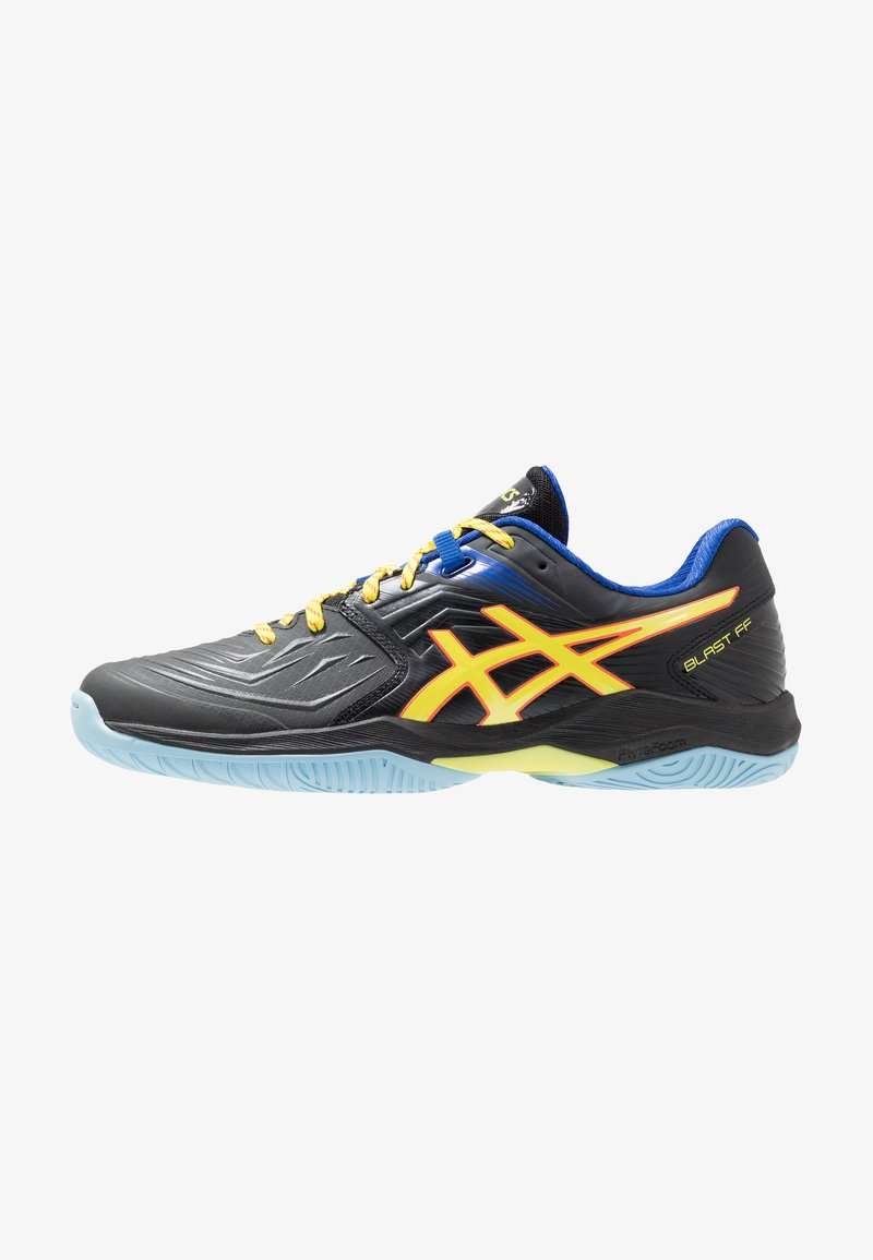 ASICS - BLAST FF - Volleyballsko - black/sour yuzu