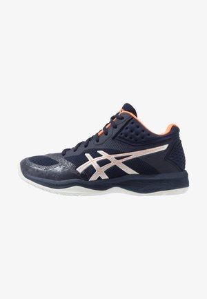 NETBURNER BALLISTIC FF - Volleyball shoes - midnight/pure silver