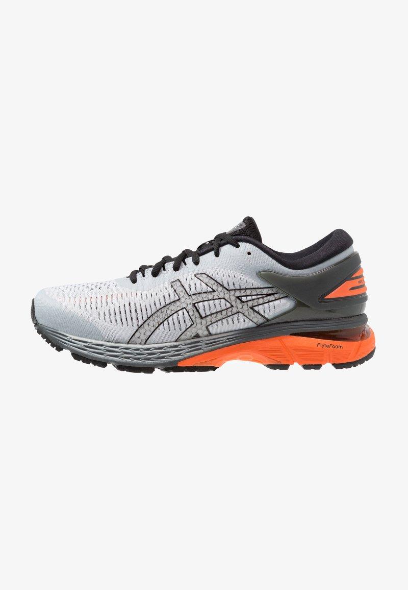 ASICS - GEL-KAYANO 25 - Stabilty running shoes - mid grey/nova orange