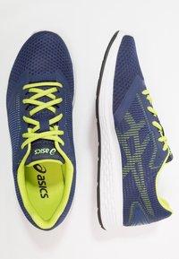 ASICS - PATRIOT 10 - Neutrální běžecké boty - deep ocean/flash yellow - 1