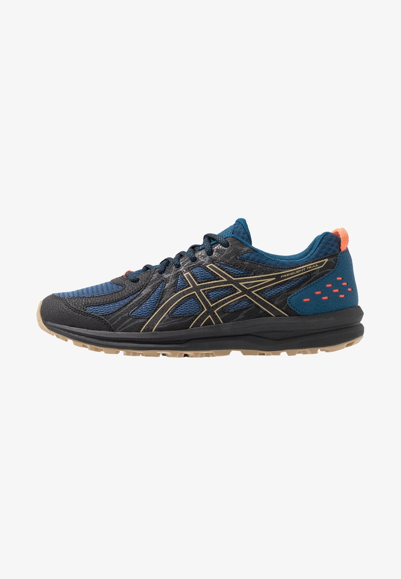 ASICS - FREQUENT TRAIL - Trail running shoes - mako blue/black