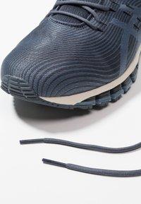 ASICS - GEL QUANTUM - Neutrální běžecké boty - tarmac/steel blue - 5