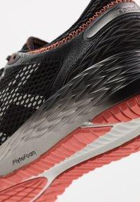 ASICS - ROADHAWK FF 2 - Neutral running shoes - black/glacier grey - 5