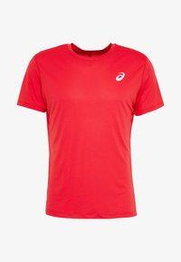 ASICS - Basic T-shirt - classic red - 3