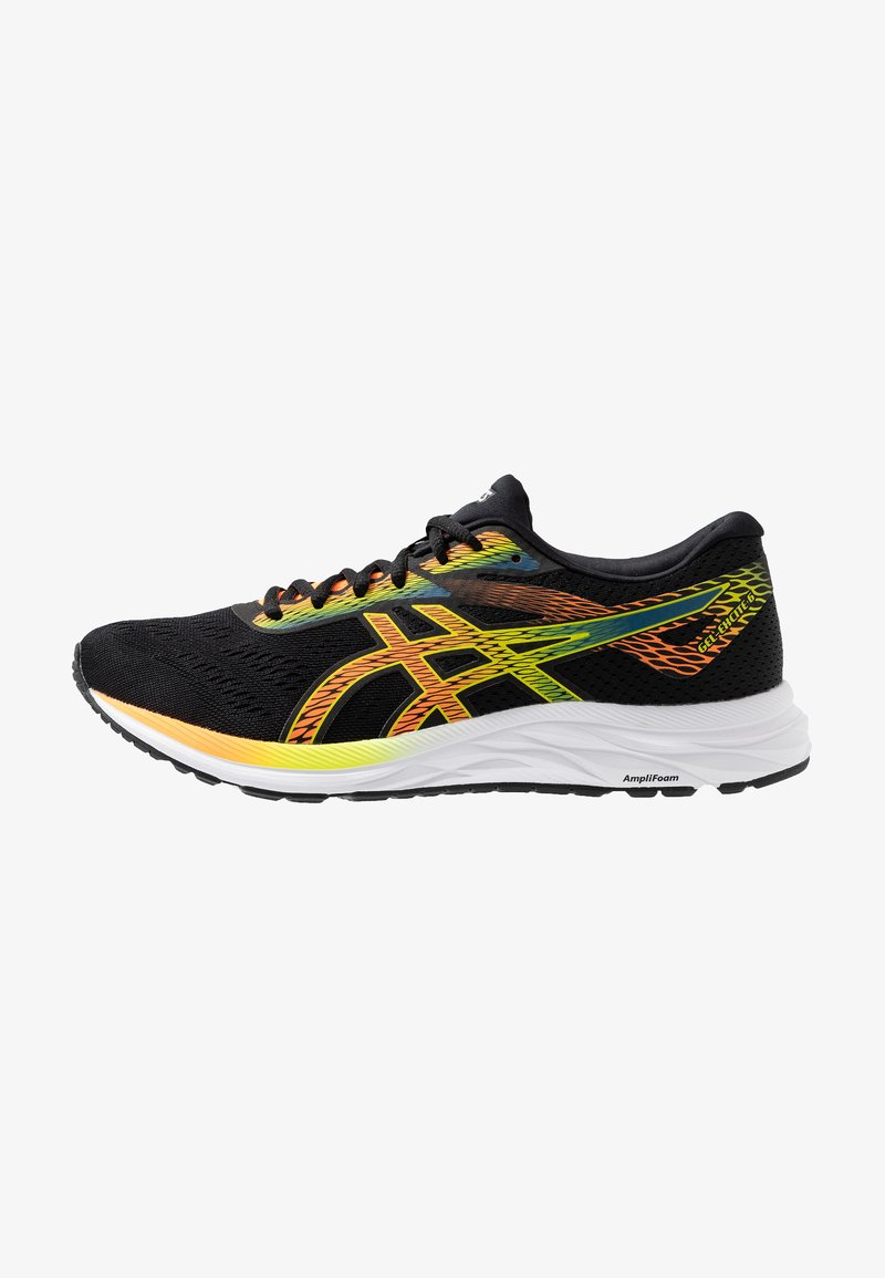 ASICS - GEL-EXCITE 6 - Neutrala löparskor - black/shocking orange