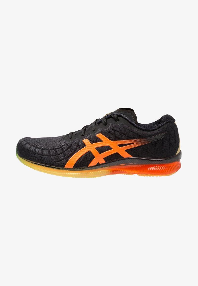 ASICS - GEL-QUANTUM INFINITY - Neutrální běžecké boty - black/shocking orange