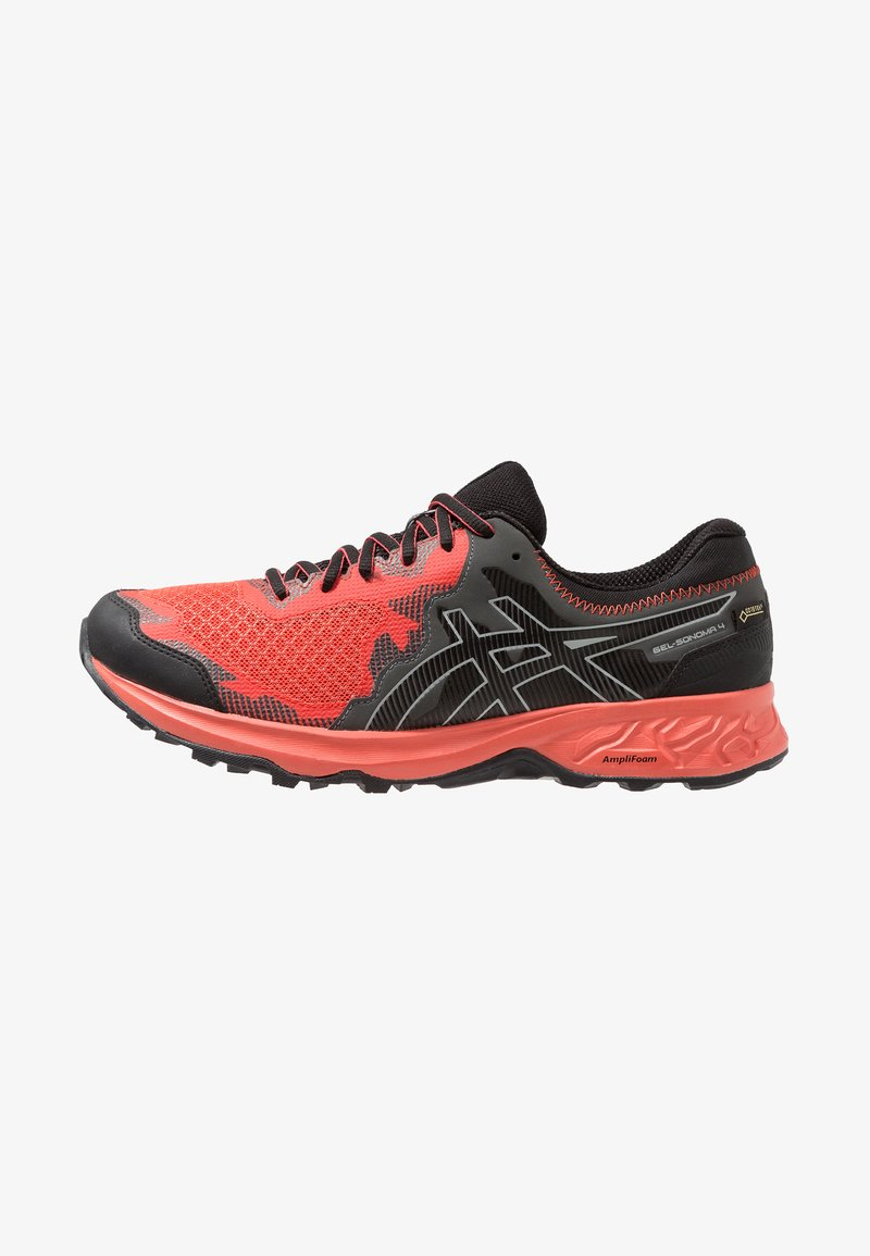 ASICS - GEL-SONOMA 4 G-TX - Laufschuh Trail - red snapper/black