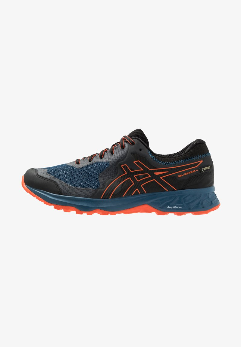 ASICS - GEL-SONOMA 4 G-TX - Løpesko for mark - mako blue/koi