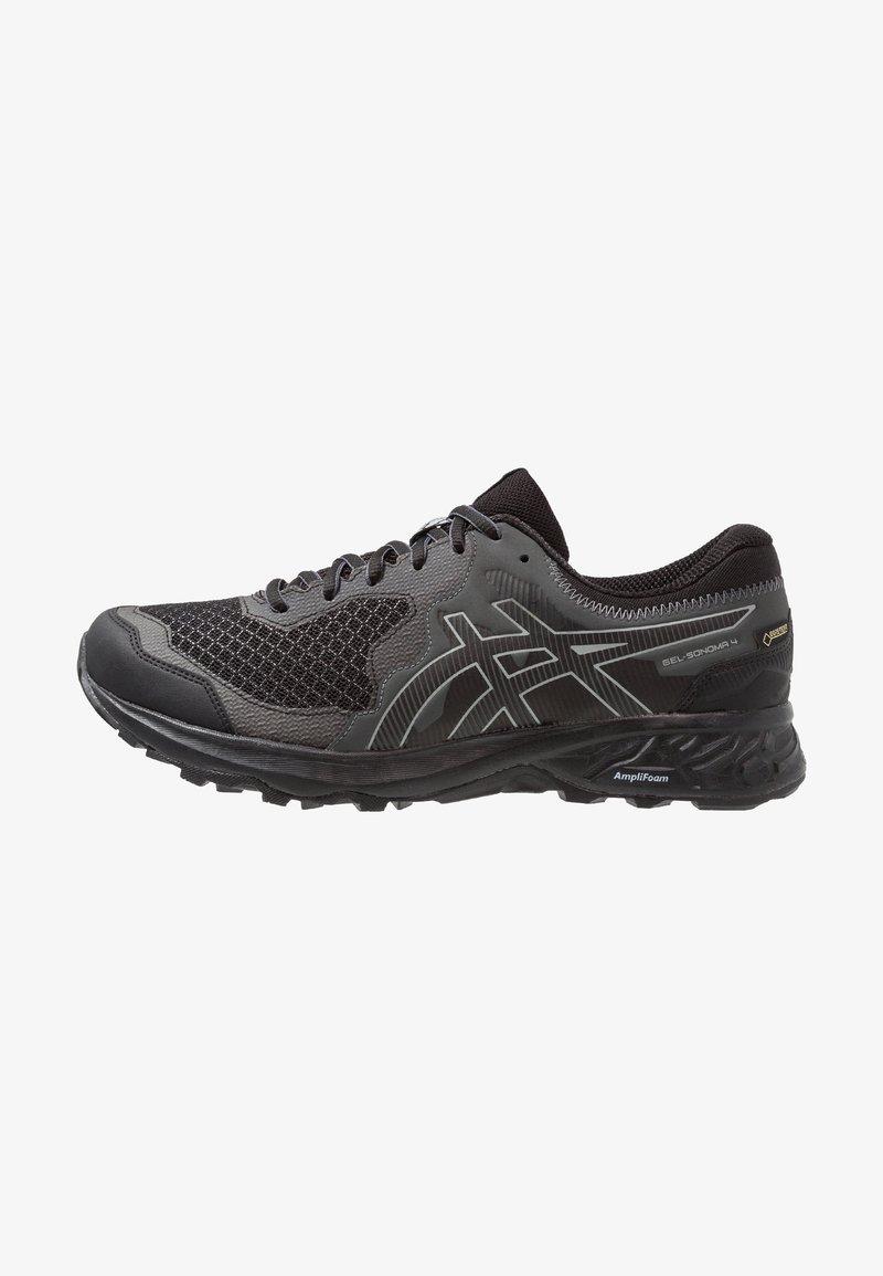ASICS - GEL-SONOMA 4 G-TX - Løpesko for mark - black/stone grey