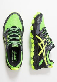 ASICS - GEL-FUJITRABUCO 7 - Běžecké boty do terénu - green gecko/black - 1