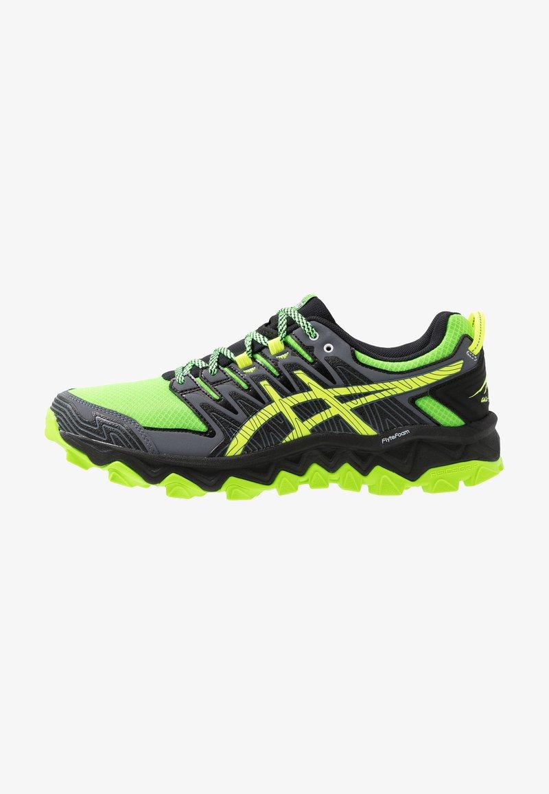 ASICS - GEL-FUJITRABUCO 7 - Běžecké boty do terénu - green gecko/black
