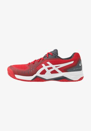 GEL-CHALLENGER 12 CLAY - Clay court tennis shoes - classic red/white