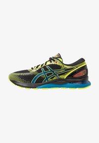 ASICS - GEL NIMBUS 21 SP - Zapatillas de running neutras - black/safety yellow - 0