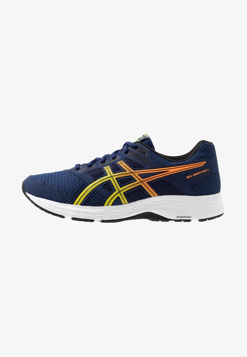 ASICS - GEL-CONTEND 5 - Zapatillas de running neutras - blue expanse/sour yuzu