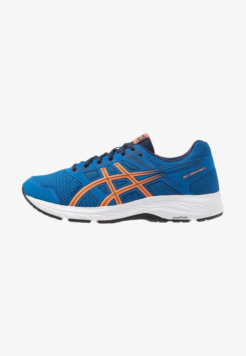 ASICS - GEL-CONTEND 5 - Obuwie do biegania treningowe - lake drive/shocking orange