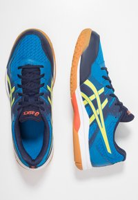 ASICS - GEL-ROCKET 9 - Scarpe da pallavolo - electric blue/sour yuzu - 1