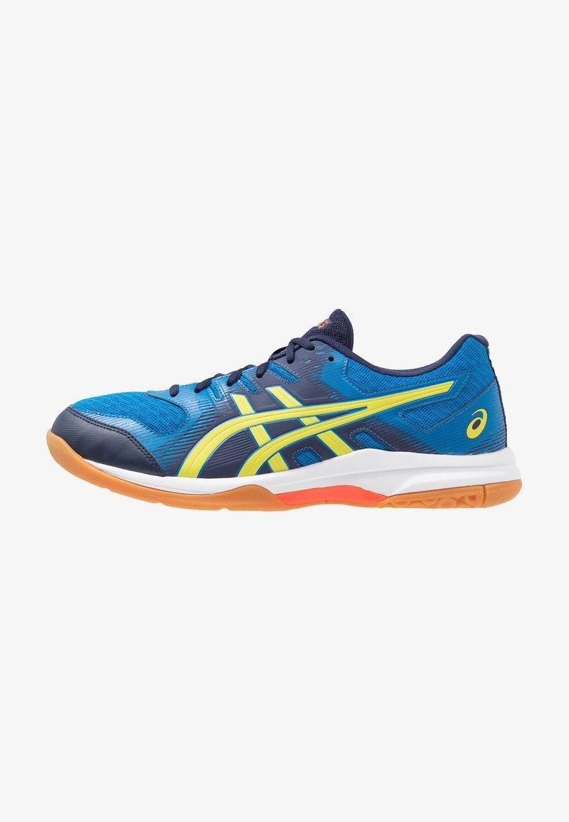 ASICS - GEL-ROCKET 9 - Volleyball shoes - electric blue/sour yuzu