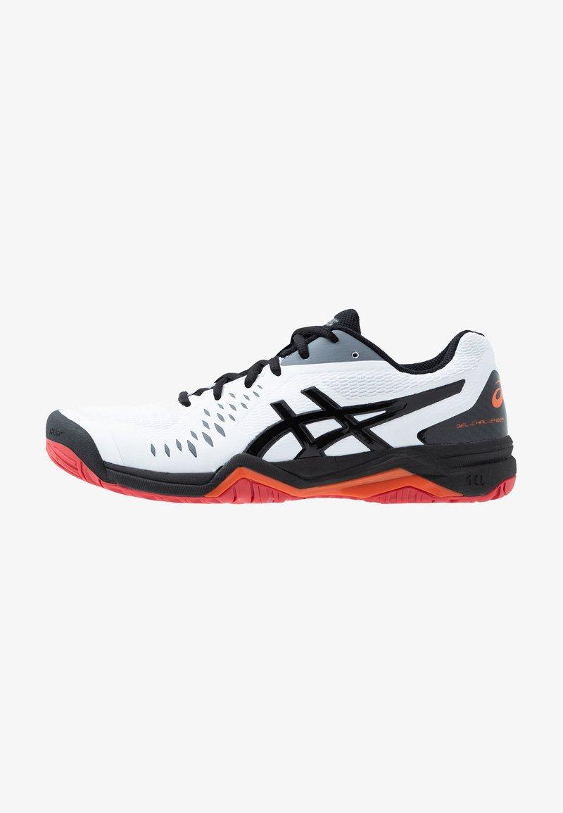 ASICS - GEL-CHALLENGER 12 - Multicourt tennis shoes - white/black