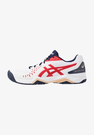 GEL-CHALLENGER 12 - Scarpe da tennis per tutte le superfici - white/classic red
