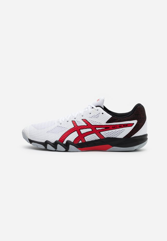 GEL BLADE 7 - Chaussures de tennis toutes surfaces - white/classic red