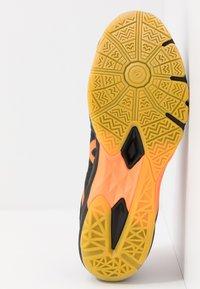 ASICS - GEL-BLADE 7 - Multicourt tennis shoes - black/shocking orange - 4