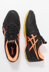 ASICS - GEL-BLADE 7 - Multicourt tennis shoes - black/shocking orange - 1