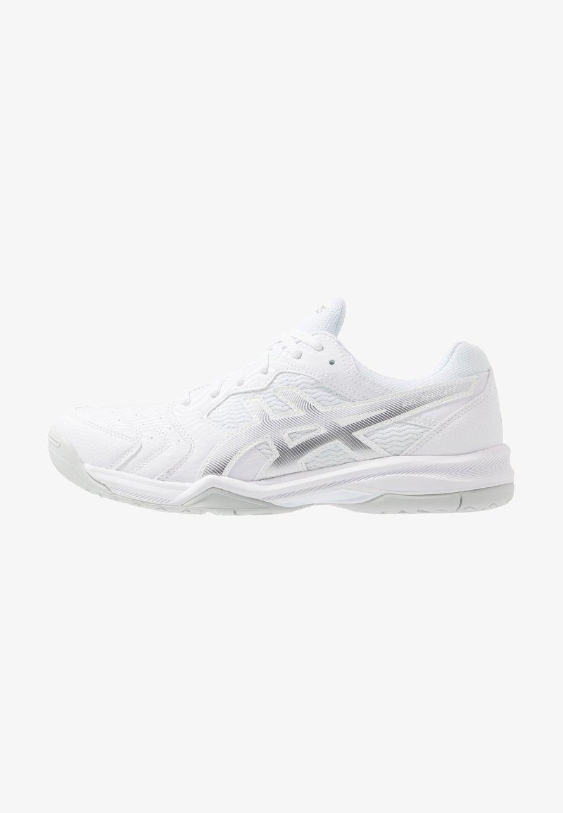 ASICS - GEL-DEDICATE 6 - Zapatillas de tenis para todas las superficies - white/silver