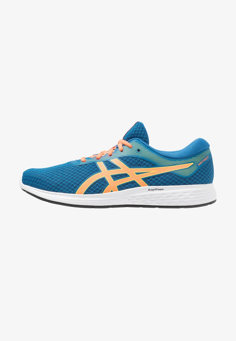 ASICS - PATRIOT 11 - Neutral running shoes - deep sapphire/shocking orange