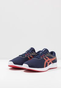 ASICS - PATRIOT 11 - Neutral running shoes - peacoat/classic red - 2