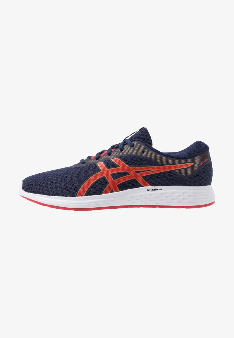 ASICS - PATRIOT 11 - Neutral running shoes - peacoat/classic red