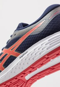 ASICS - PATRIOT 11 - Neutral running shoes - peacoat/classic red - 5