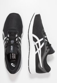 ASICS - PATRIOT 11 - Neutral running shoes - black/white