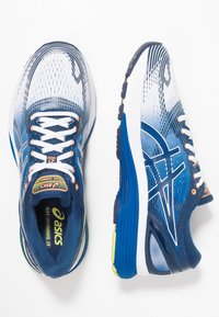 ASICS - GEL-NIMBUS 21 - Neutrální běžecké boty - white/lake drive - 1