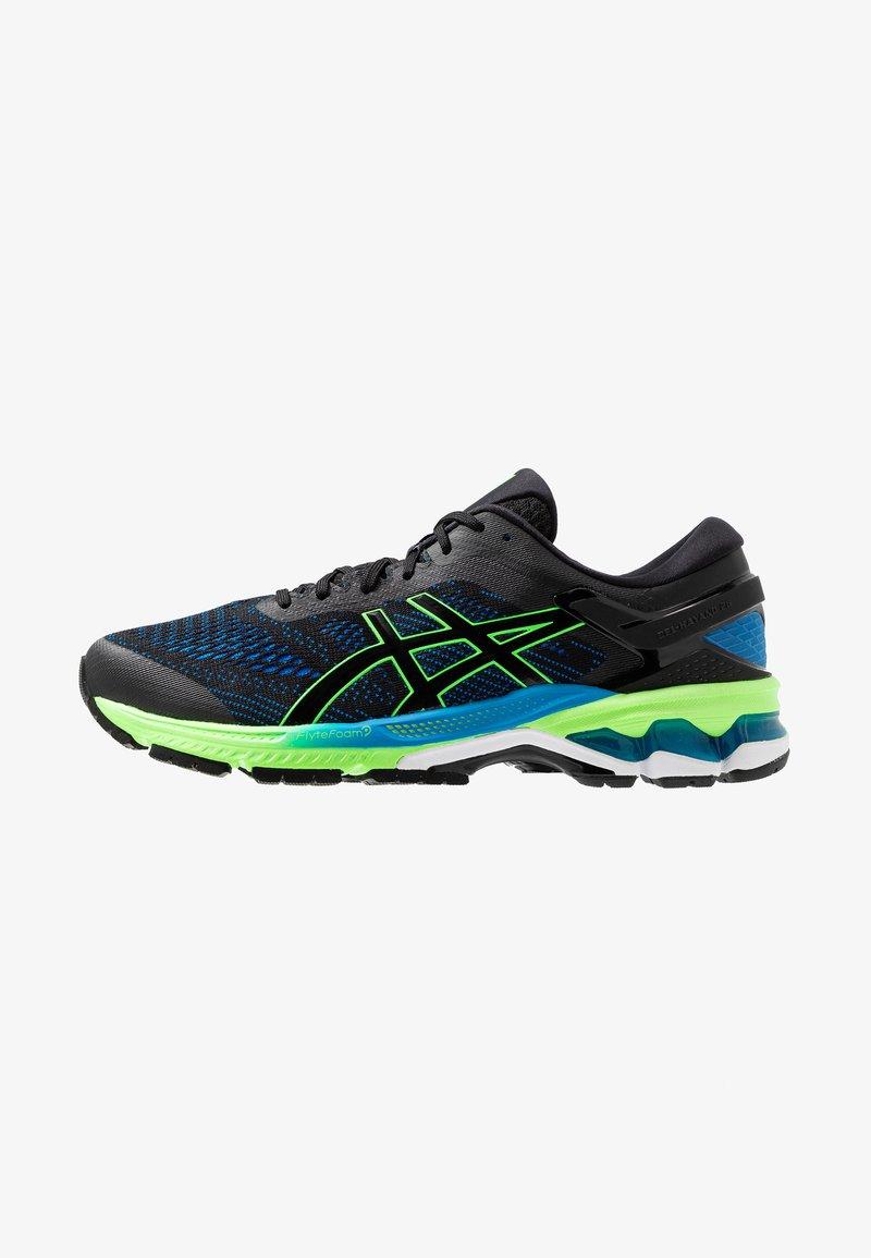ASICS - GEL-KAYANO 26 - Zapatillas de running estables - black/electric blue