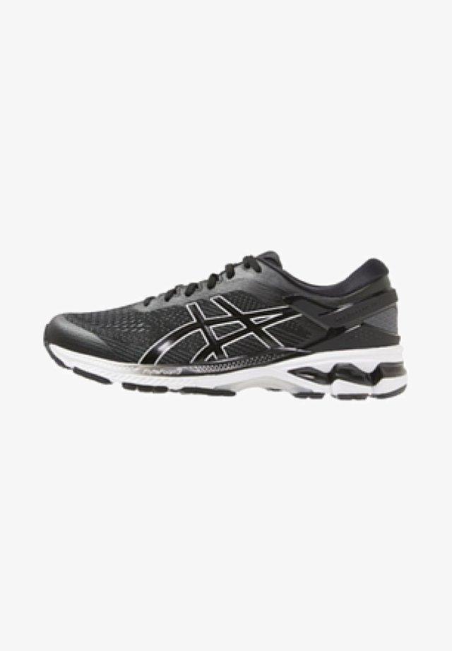 GEL-KAYANO 26 - Stabilní běžecké boty - black/white