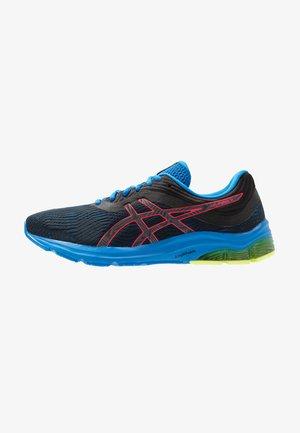 GEL-PULSE 11 LS - Neutral running shoes - black/laser pink