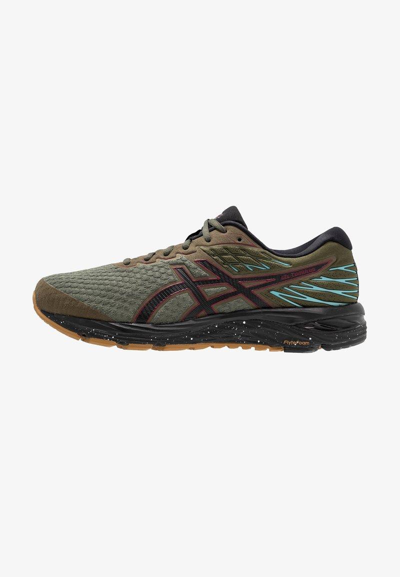 ASICS - GEL-CUMULUS 21 WINTERIZED - Neutrální běžecké boty - olive/black