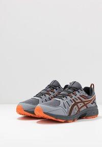ASICS - GEL-VENTURE 7 - Zapatillas de trail running - carrier grey/habanero - 2