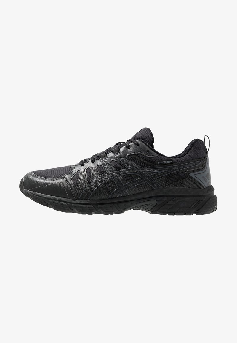 ASICS - GEL-VENTURE 7 WP - Løpesko for mark - black/carrier grey