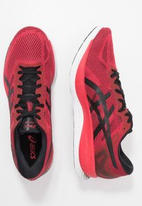 ASICS - GLIDERIDE - Neutral running shoes - speed red/black - 1
